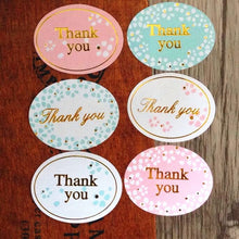 Thank You Decoration Label Stickers