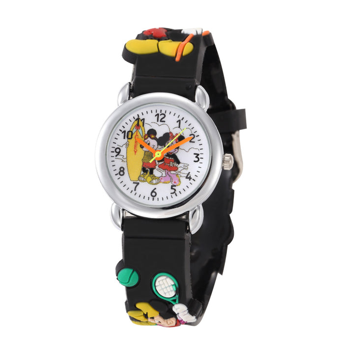 Rubber Strap Quartz Watch