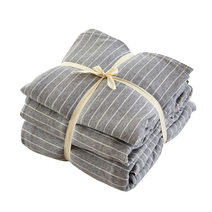 Knitted Cotton Bedding Set