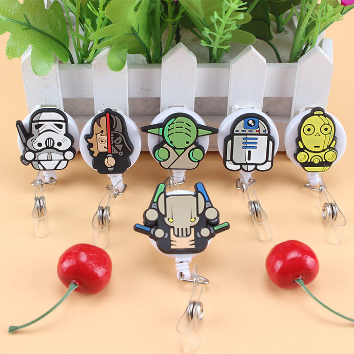 Star Wars Character Retractable Badge Holder
