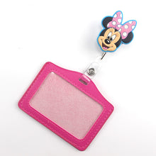 Cartoon Retractable Badge ID Holder