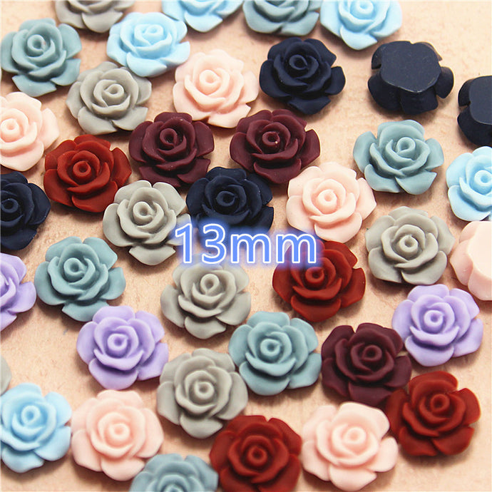 Mixed Color Flower Resin