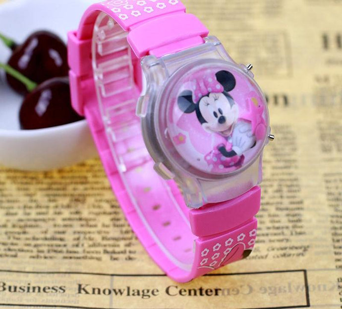 Clamshell Silicone Digital Wristwatch