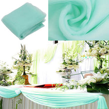 Sheer Organza Fabric Decoration