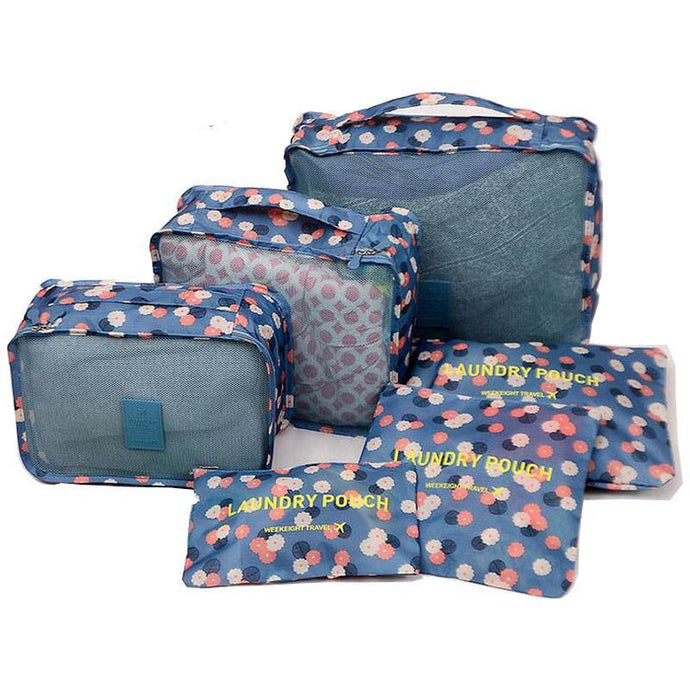 Nylon Packing Cubes Organizer Bags