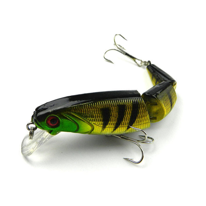 Jointed Fishing Lure Minnow Plastic