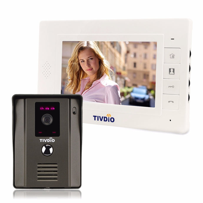 Night Vision Camera Door Intercom