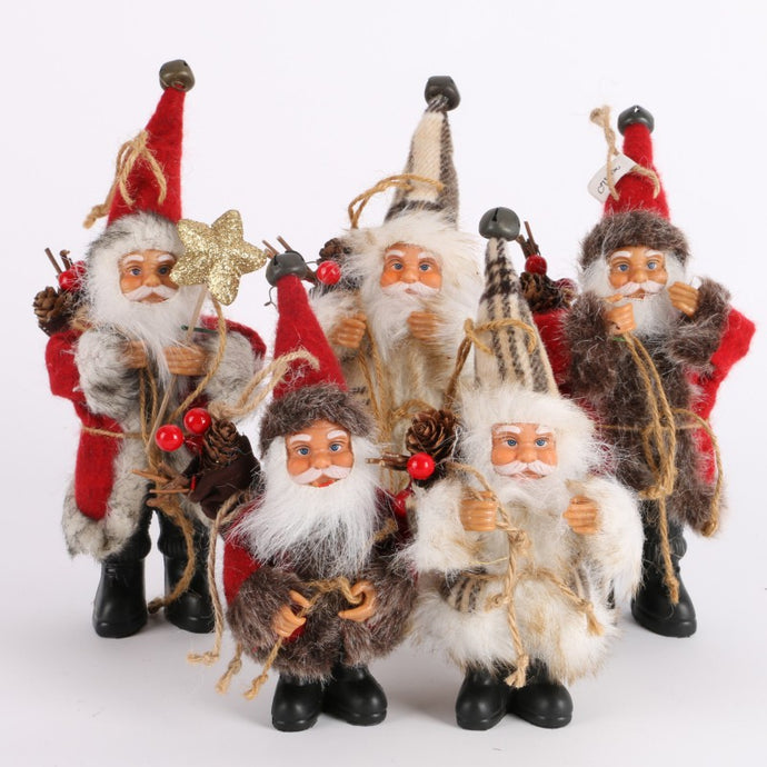 Santa Claus Tree Ornaments