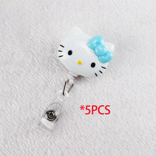 Hello Kitty Retractable Badge Holder