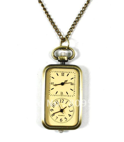 Dual Movement Pocket Watch