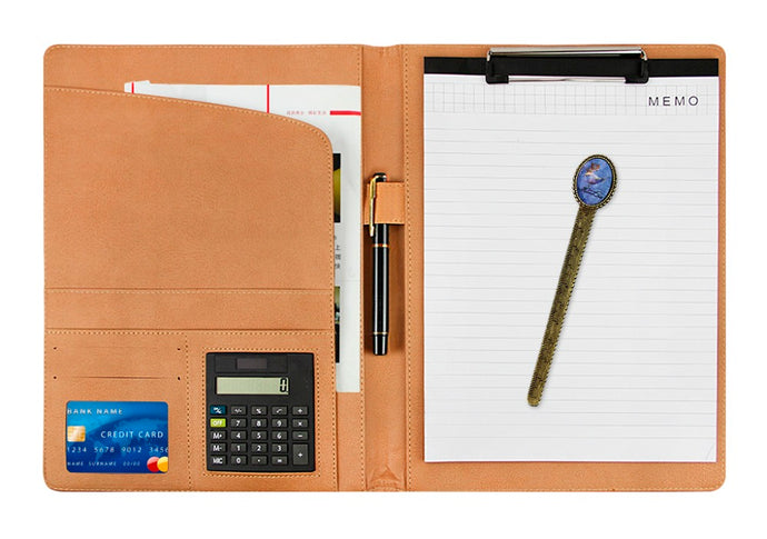 Clipboard PU Leather File Folder