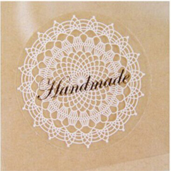 Vintage Lace And Transparent Sticker