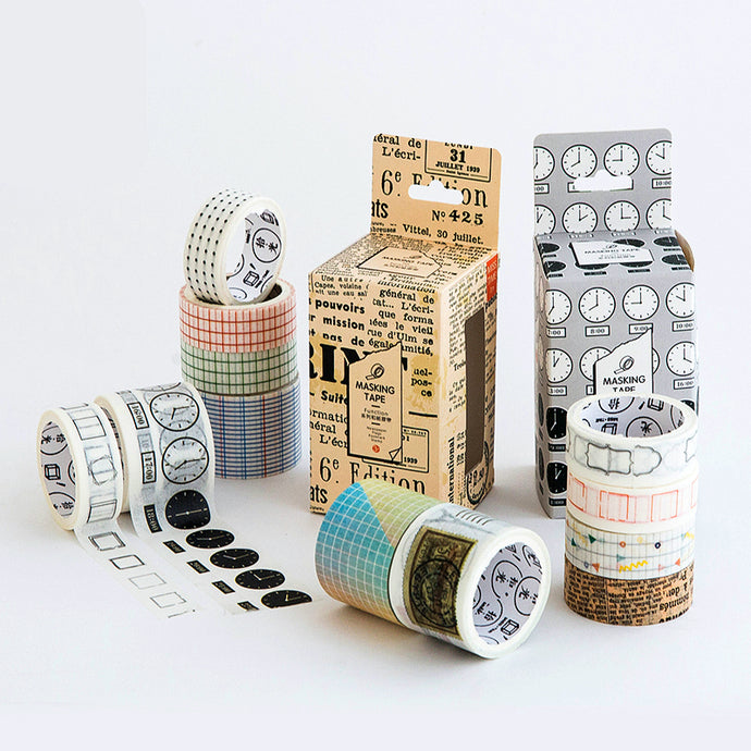 Vintage Washi Tape Set
