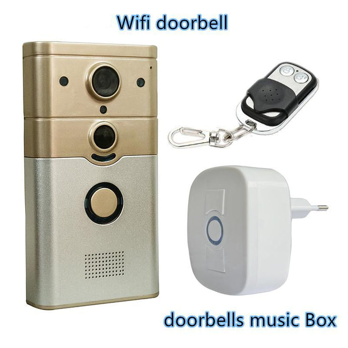 Motion Detection Door Camera