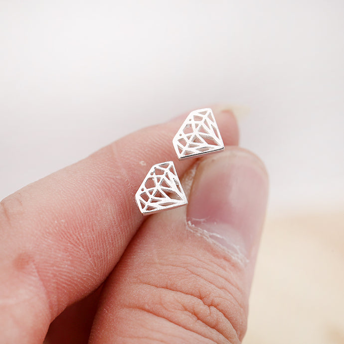 Punk Triangle Geometric Earrings