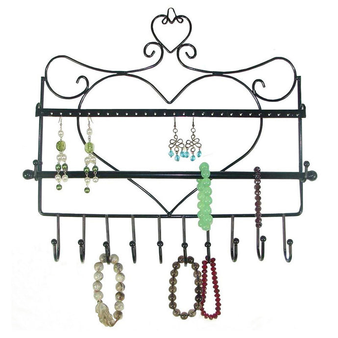 Jewelry Hook Wall Mount Organizer
