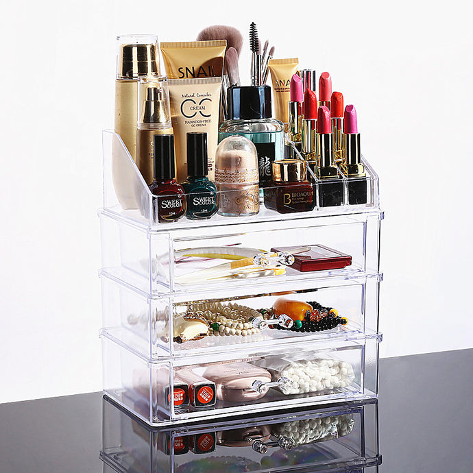 Clear Acrylic Cosmetic Storage Box