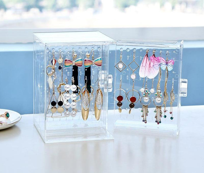 Jewelry Organizer Stand Box