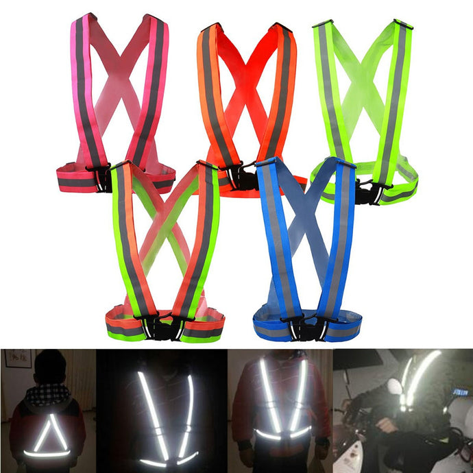 Safe Reflective Vest Belt