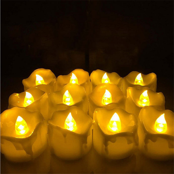 Yellow Flicker Battery Candles