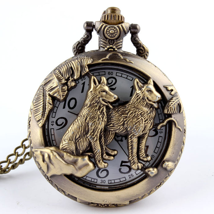 Wolf Hollow Pocket Watch