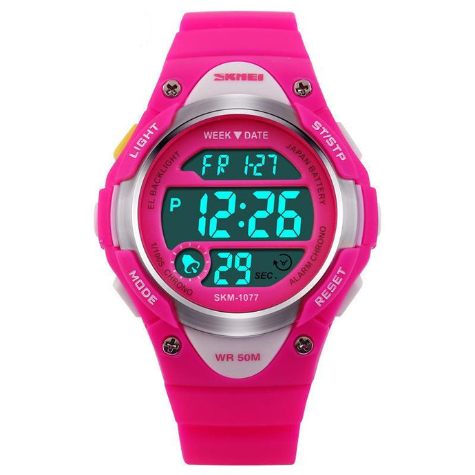 Rubber Digital LED Wristwatches