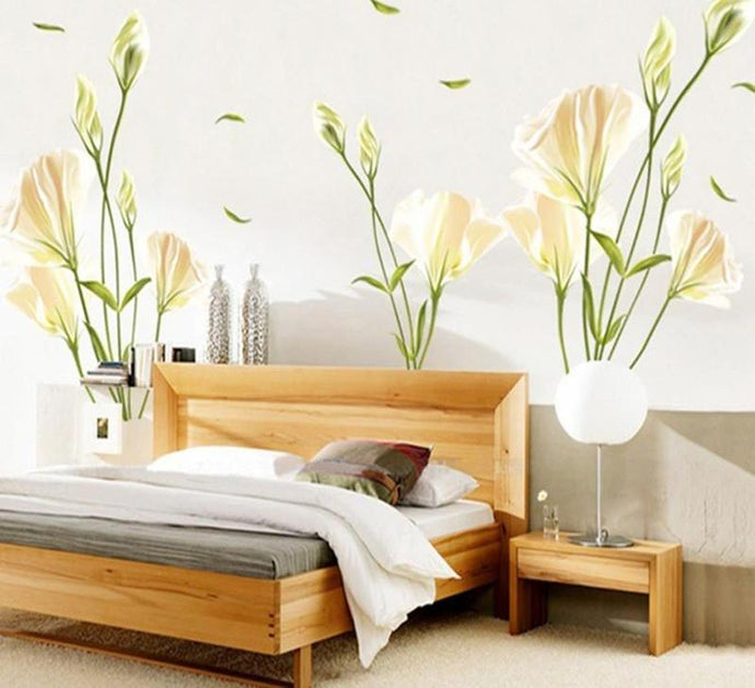 Lily Flower Wall Stickers