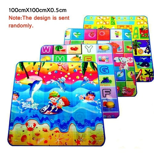 Double-Side Activity Baby Gym Mat