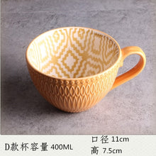 Ceramic Hand Painted Coffee Cup