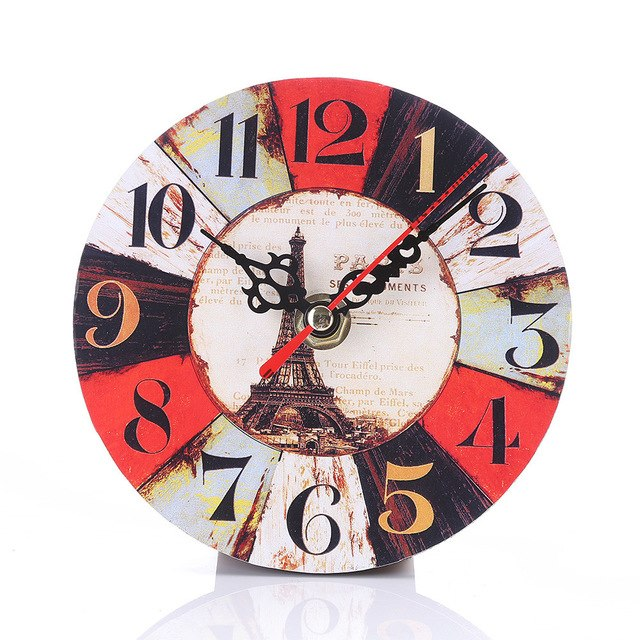 Antique Style Non-Ticking Clock