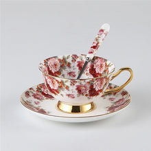 British Flower Bone Teatime Teapot