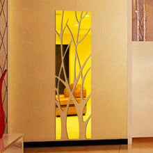 Acrylic Mirror Removable Wall Sticker