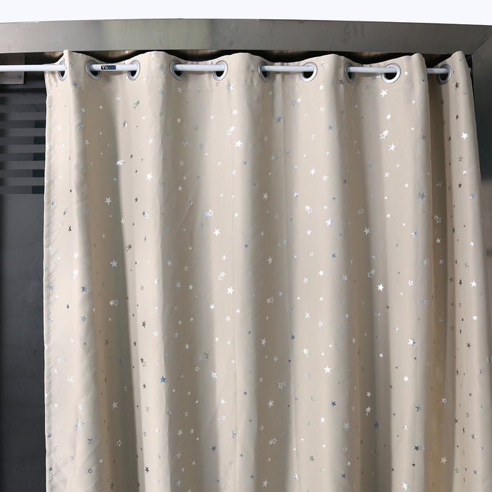 Extendable Spring Telescopic Shower Curtain