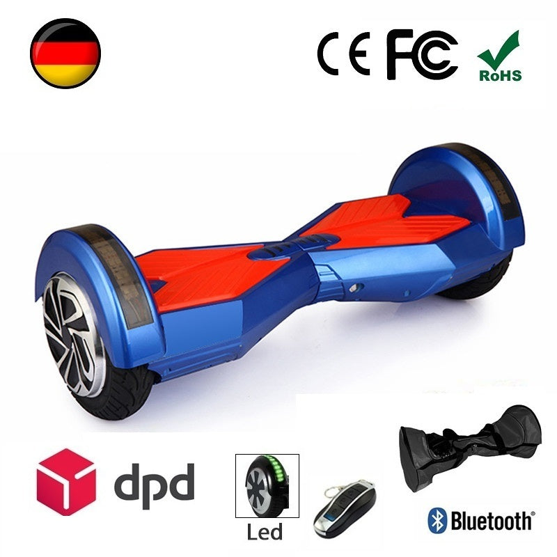 8 zoll lambo hoverboard in blau hoverboardone. Black Bedroom Furniture Sets. Home Design Ideas