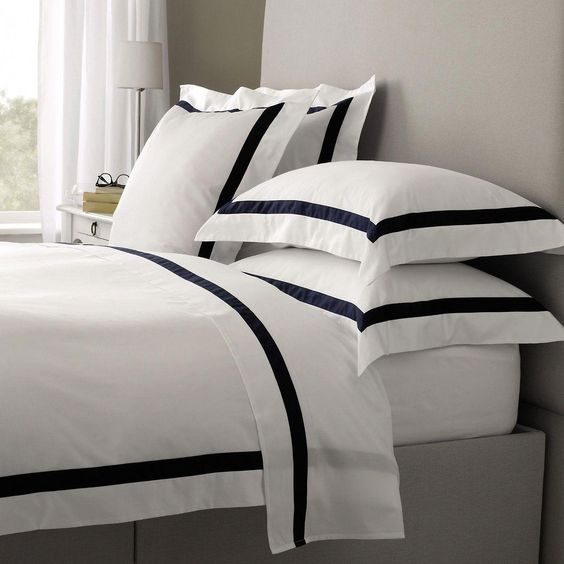 Luxury Linen sheets for hotel style bedrooms
