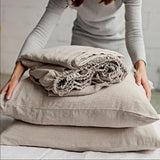 Natural California King bed Linen Online NZ
