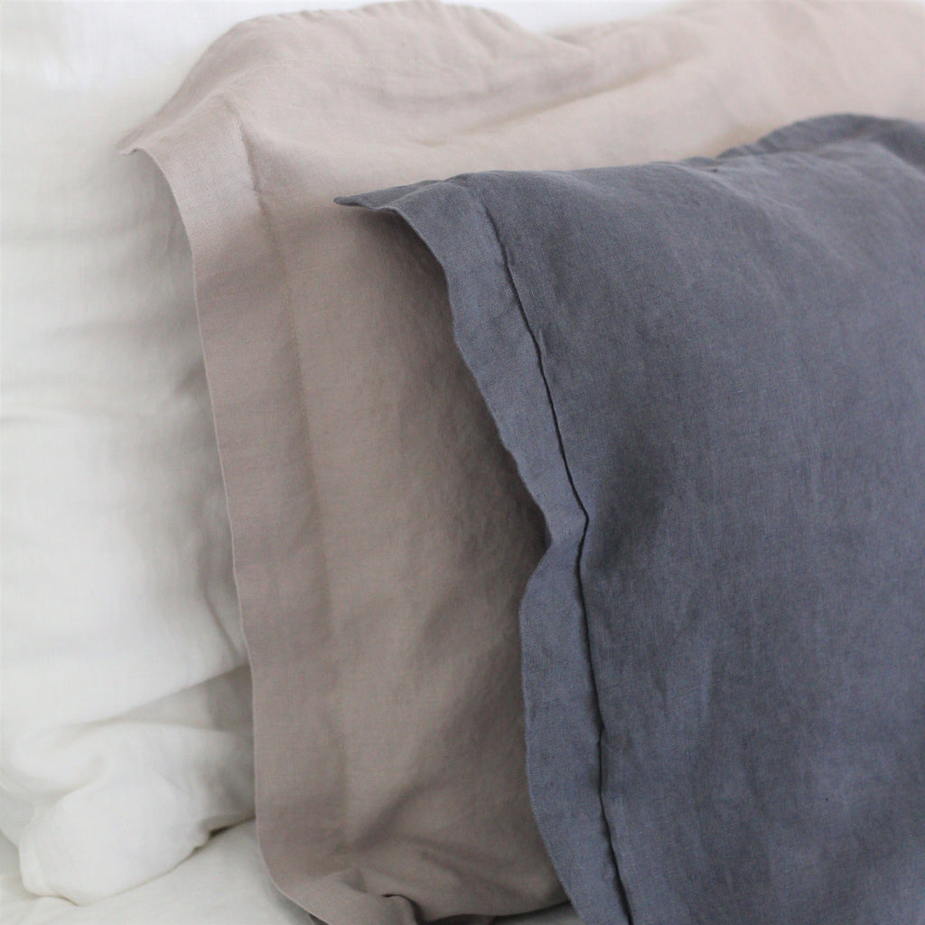 Linen Pillowcases | Soft Taupe | Made in Europe