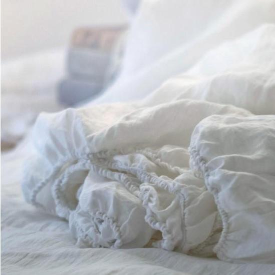 Luxury Linen Bed Sheets & Pure French Linen Bedding Online NZ