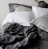 French Linen Pillowcases | Pure White