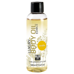 Shiatsu Luxury Edible Body Oil  Vanilla