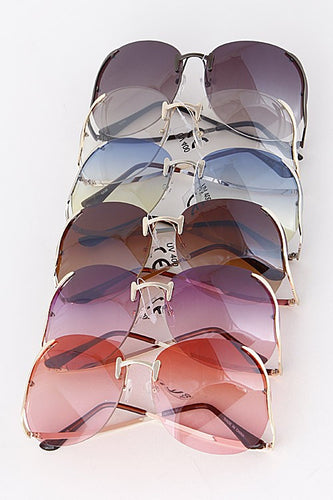 Over-sized Tinted Sunglasses - Boldersides