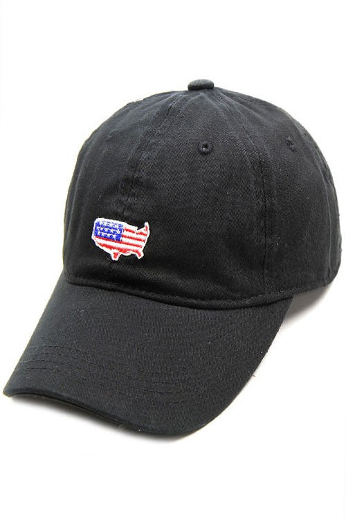 USA American Flag Patch Cap