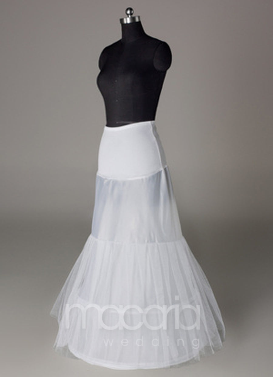 Two-Tier Lycra Mermaid Trumpet Bridal Petticoat - Macaria Wedding
