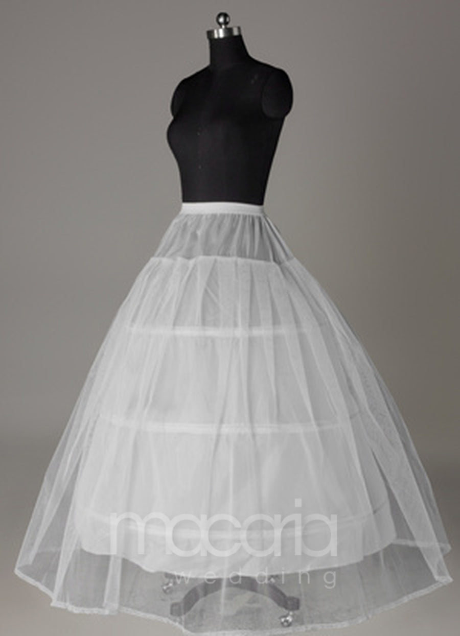 Two-Tier Net Ball Gown Bridal Petticoat - Macaria Wedding