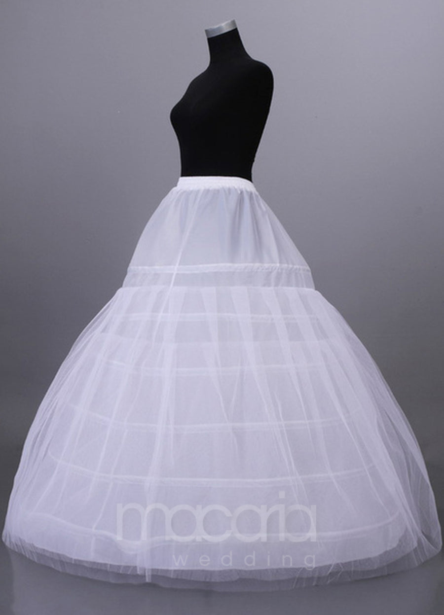 Two-Tier Full Gown Slip Bridal Wedding Petticoat