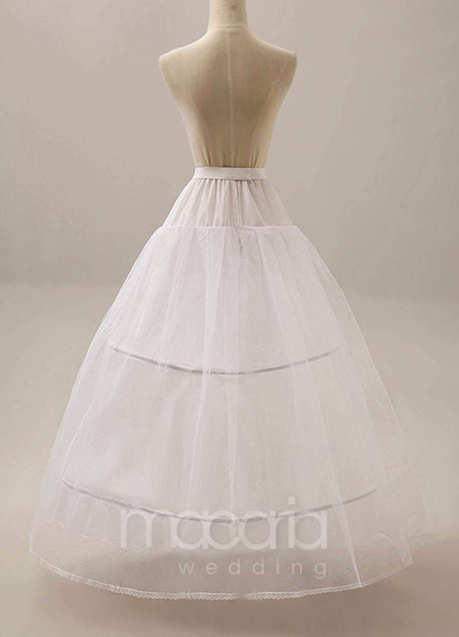 Two-Tier Ball Gown Bridal Wedding Petticoat