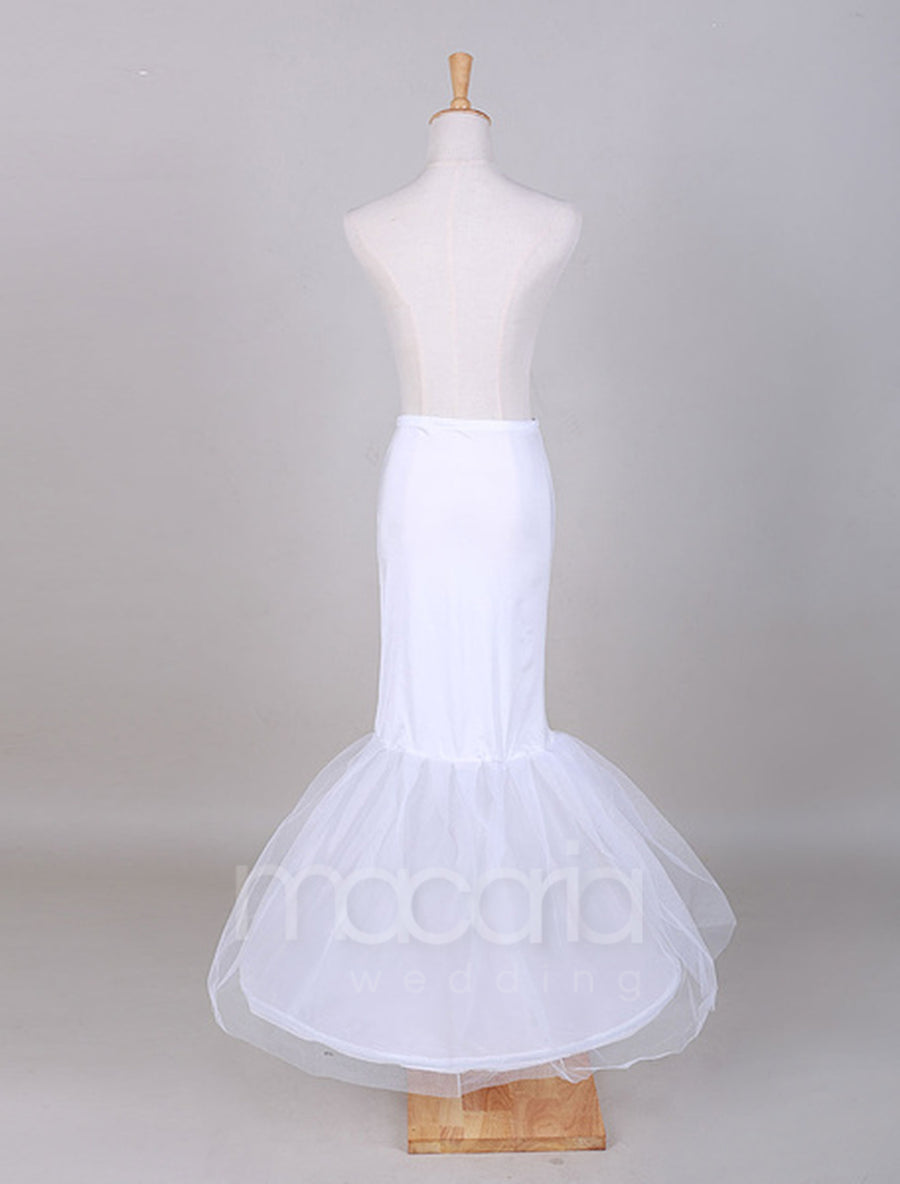 Two-Tier Tulle Mermaid Bridal Wedding Petticoat