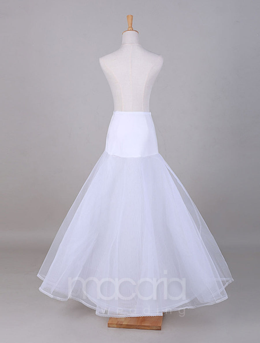 Two-Tier A-Line Boneless Bridal Wedding Petticoat