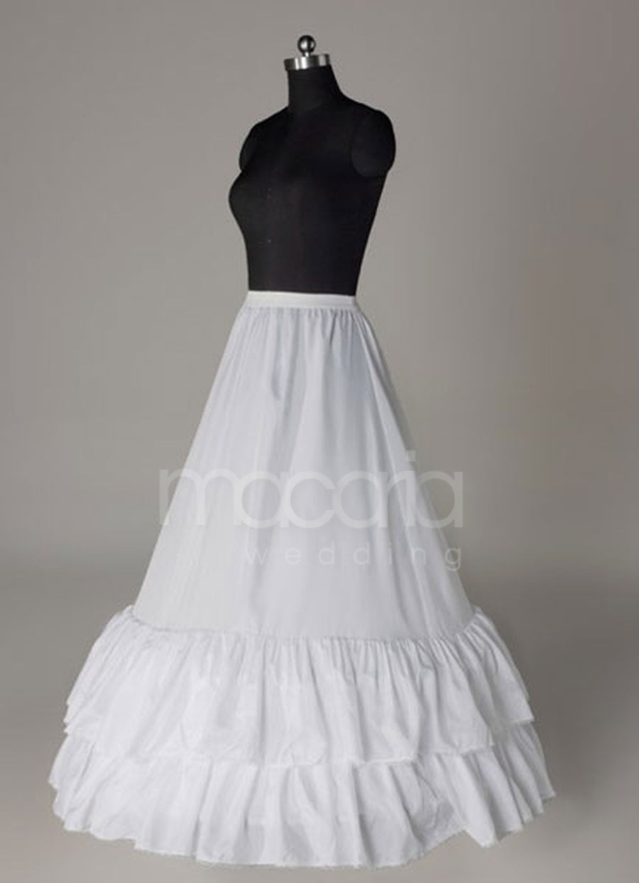 Two-Tier A-Line Bridal Wedding Petticoat