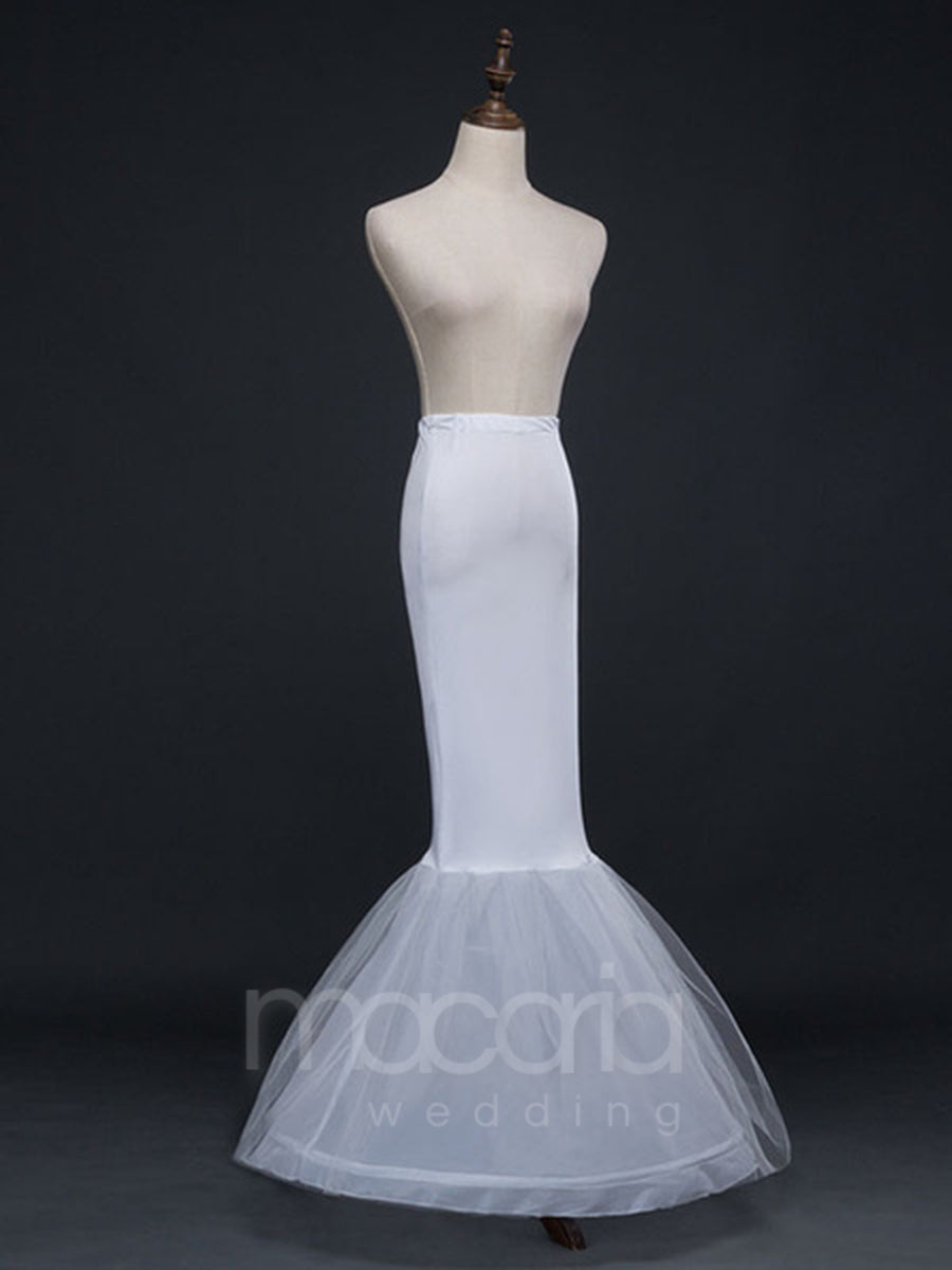 Two-Tier Mermaid Bridal Wedding Petticoat